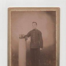 Fotografia antica: FOTO CABINET.- ESTUDIO FOTOGRÁFICO R. MONTES. SEGOVIA. SAN INDELFONSO LA GRANJA. 1909.. Lote 191109093
