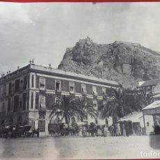 Fotografia antiga: FOTOGRAFIA FOTO ALBUMINA ALICANTE GRAN HOTEL DE ROMA ORIGINAL , F7. Lote 191175947