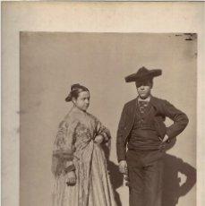 Fotografía antigua: CIUDAD REAL.- 1925. TÍPOS. ALDEANOS. J. LAURENT Y Cª. MADRID. 44X32. CON PASPARTÚ.. Lote 191281965