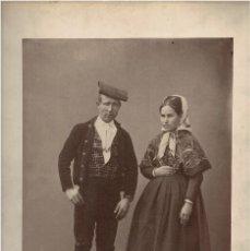 Fotografía antigua: LERIDA.- 1942. TÍPOS. ALDEANOS. J. LAURENT Y Cª. MADRID. 44X32. CON PASPARTÚ.. Lote 191282687