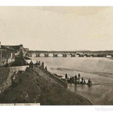 Fotografía antigua: BADAJOZ.- PUENTE DE MÉRIDA. J. LAURENT Y Cª. 22X16.. Lote 191308976