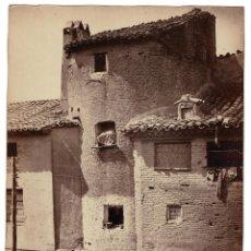 Fotografía antigua: ZARAGOZA.- TORREÓN DEL TROVADOR. J. LAURENT Y Cª. 25X34.. Lote 191353350