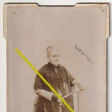 Fotografía antigua: FOTOGRAFIA SEÑORA ANCIANA SIN FOTOGRAFO -R-8. Lote 191422583