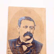 Fotografía antigua: JOSEP ANSELM CLAVE - FOTOGRAFÍA AUTOGRAFIADA - FIRMA. Lote 191559366