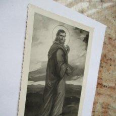 Fotografía antigua: ANTIGUA FOTO(S/F) RELIGIOSA-DE UN SANTO.- MIDE 17.5 X 11 CM.. Lote 191570157