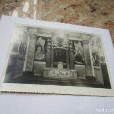 Fotografía antigua: ANTIGUA FOTO(S/F) RELIGIOSA-MIDE 16.5 X 12 CM.. Lote 191570963