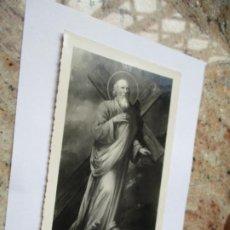 Fotografía antigua: ANTIGUA FOTO(S/F) RELIGIOSA-DE: SANTO-MIDE 17.5 X 11.5 CM.. Lote 191571185