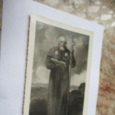 Fotografía antigua: ANTIGUA FOTO(S/F) RELIGIOSA-DE: SANTO-MIDE 17.5 X 11.5 CM.. Lote 191571320