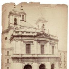 Fotografía antigua: MADRID.- IGLESIA DE SAN FRANCISCO EL GRANDE. J. LAURENT Y Cª. 24X32.. Lote 191571861