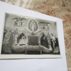 Fotografía antigua: ANTIGUA FOTO(S/F) RELIGIOSA--MIDE 16 X 11.5 CM.. Lote 191571936