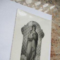 Fotografía antigua: ANTIGUA FOTO(S/F) RELIGIOSA-- DE VIRGEN-MIDE 17 X 12 CM.. Lote 191572222