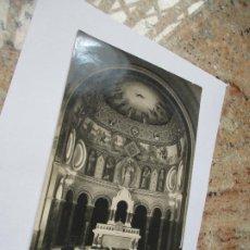 Fotografía antigua: ANTIGUA FOTO(S/F) RELIGIOSA-- -MIDE 16.5 X 11.5 CM.- CUÑO DE FOTÓGRAFO (ILEGIBLE). Lote 191572706