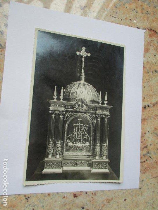 ANTIGUA FOTO(S/F) RELIGIOSA-- -MIDE 17 X 11.5 CM.- CUÑO DE FOTÓGRAFO: J. BONACHO- VALENCIA (Fotografía Antigua - Albúmina)