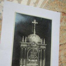 Fotografía antigua: ANTIGUA FOTO(S/F) RELIGIOSA-- -MIDE 17 X 11.5 CM.- CUÑO DE FOTÓGRAFO: J. BONACHO- VALENCIA. Lote 191574812