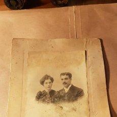 Fotografía antigua: FOTOGRAFÍA DE NOVIOS. ZARAGOZA. FOTOGRAFÍA AUSTRIADA. Lote 191809917