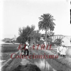 Fotografía antigua: VALENCIA, VISTA - CLICHE ORIGINAL NEGATIVO EN CRISTAL - AÑOS 1910-1930. Lote 192116956