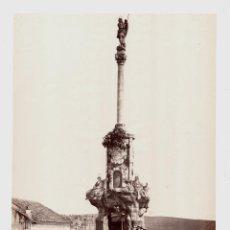 Fotografía antigua: CORDOBA - 303. LA COLUMNA DEL TRIUNFO. FOTO: J. LAURENT. 24,7X32,7 CM.. Lote 192446497