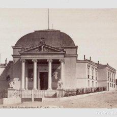 Fotografía antigua: MADRID - 778- VISTA DEL MUSEO ANTROPOLÓGICO DEL DR. VELASCO. FOTO: J. LAURENT. 24,5X33,7 CM.. Lote 192450977