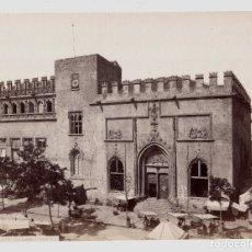 Fotografía antigua: VALENCIA - 910. LA LONJA. FOTO: J. LAURENT. 25,1 X 33,6 CM.. Lote 192457450