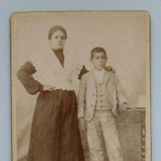 Fotografía antigua: ARTURO FRANCO - CALLE JABONERÍAS 6. MURCIA. 12,5 X 8 CM.. Lote 192671476