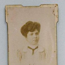 Fotografía antigua: JUAN MATEO Y COMPAÑÍA - CALLE DE CARTAGENA 27. MURCIA. 10,5 X 6,5 CM.. Lote 192672131