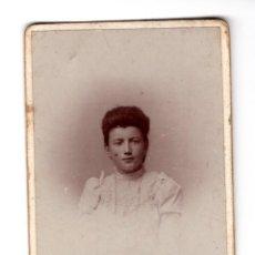 Fotografía antigua: RETRATO FINALES SIGLO XIX COMIENZOS XX. Lote 192685532