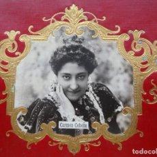 Fotografía antigua: CARMEN COBEÑA, ACTRIZ. Lote 192819020