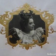Fotografía antigua: LUISA CAMPOS, ACTRIZ. Lote 192820048