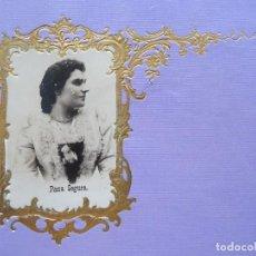 Fotografía antigua: PACA SEGURA, ACTRIZ. Lote 192820582
