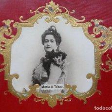 Fotografía antigua: MARÍA ÁLVAREZ TUBAU, ACTRIZ. Lote 192820767