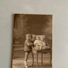Fotografía antigua: MODERN STUDI XAVIER PELLICER ( BARCELONA ) AÑOS 20. 14X9 CM. Lote 192901716