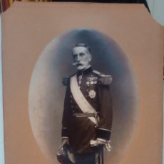 Fotografia antiga: FOTOGRAFIA INEDITA MARQUES DE COMILLAS REALIZADA POR KAULAK MADRID. 31 X 22 CM. Lote 193224700