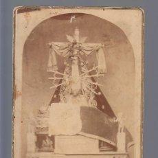 Fotografia antiga: ARÉVALO (AVILA).- NTRA. SRA. DE LAS ANGUSTIAS. MONASTERIO DE SAN BERNARDO 1886. Lote 193248520