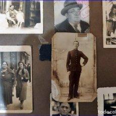 Fotografía antigua: ÁLBUM DE FOTOS FAMILIAR DE LOS AÑO 30-40. ESPAÑOL.. Lote 193740542
