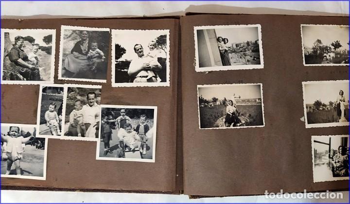 Fotografía antigua: ÁLBUM DE FOTOS FAMILIAR DE LOS AÑO 30-40. ESPAÑOL. - Foto 3 - 193740542