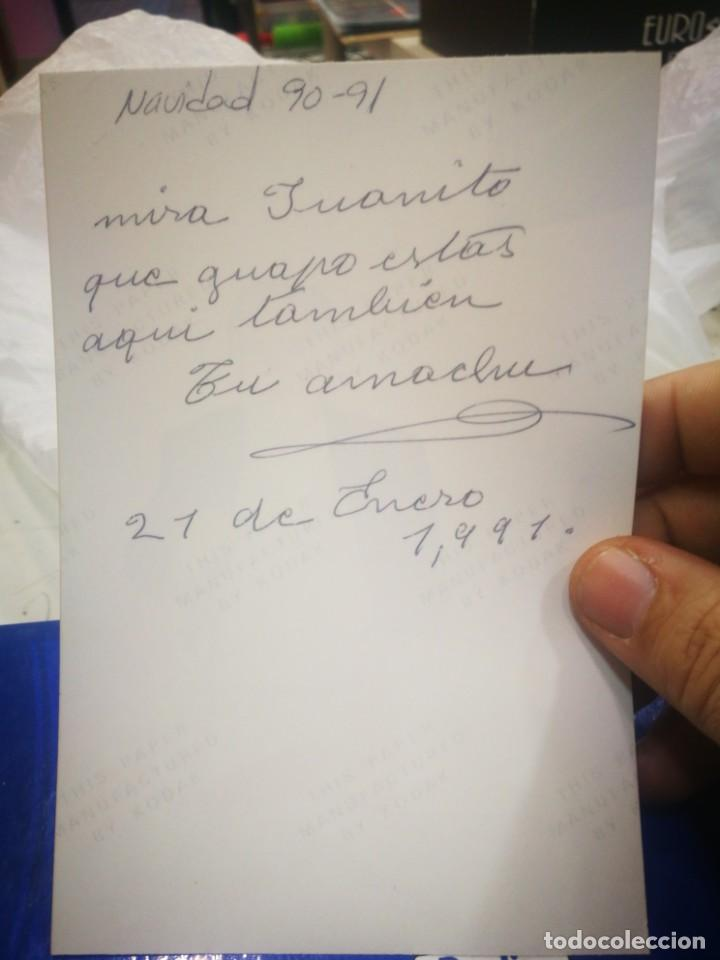 Fotografía antigua: Fotografía de Señor fumando sentado 1991 original - Foto 2 - 194215531