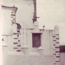 Fotografía antigua: LAS PALMAS -EXTERIOR DE LA IGLESIA DE TELDE. Lote 194263733