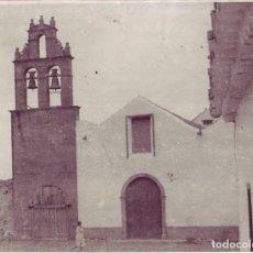 Fotografía antigua: LAS PALMAS - IGLESIA DE SAN FRANCISCO TELDE. Lote 194264692