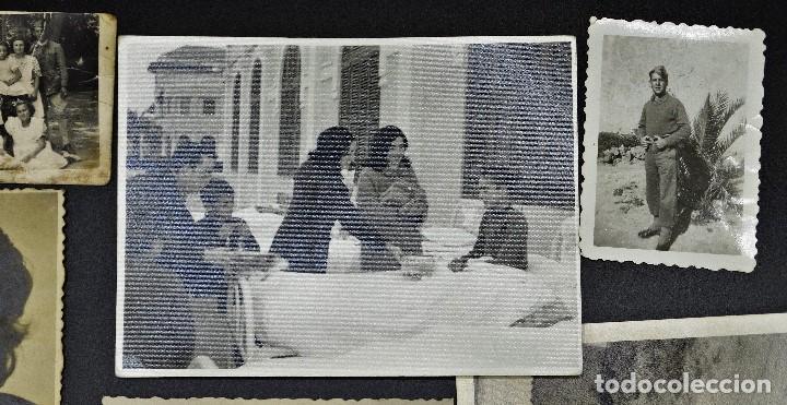 Fotografía antigua: Lote de 9 fotos antiguas, surtidas (ver fotos ) - Foto 3 - 194346125