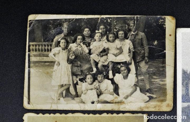 Fotografía antigua: Lote de 9 fotos antiguas, surtidas (ver fotos ) - Foto 4 - 194346125