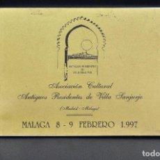Fotografía antigua: 12 FOTOS MAS RELEVANTES DE VILLA SANJURJO 1925-1956. Lote 194349438
