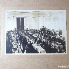 Fotografía antigua: FG-. CENA DE GALA HOTEL RITZ. BARCELONA, 29 DE JUNIO DE 1919.. Lote 194353272