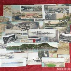 Fotografía antigua: COLECCIÓN DE 38 FOTOGRAFÍAS Y POSTALES. ALBUMINA Y FOTOMECÁNICA. SIGLO XX. . Lote 194366953