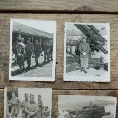 Fotografía antigua: LOTE 4 FOTOGRAFÍAS GUERRA CIVIL. Lote 194510140