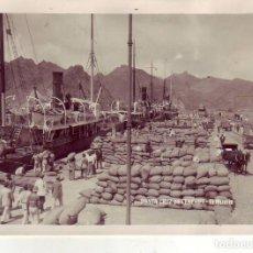 Fotografía antigua: SANTA CRUZ DE TENERIFE EL MUELLE - JG GRANDE. Lote 194548507