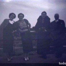 Fotografía antigua: LOTE DE 4 NEGATIVOS DE 6 X 9 CM.. Lote 194569896