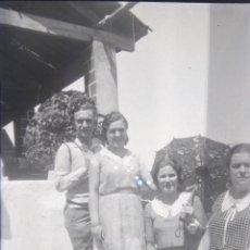 Fotografía antigua: LOTE DE 10 NEGATIVOS DE 4 X 7 - 6 X 9 CM.. Lote 194570490