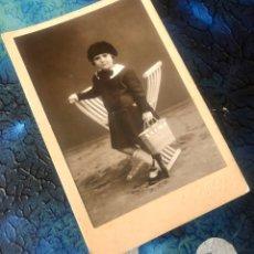 Fotografía antigua: FOTOGRAFÍA ESPLUGAS.. Lote 194582410