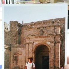 Fotografía antigua: FOTOGRAFIA ERICE SICILIA ITALIA. Lote 194585717