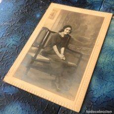 Fotografía antigua: FOTOGRAFÍA ESTUDIO GARINGOLA.. Lote 194587151